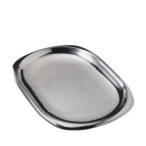 Nambe Oblong Silver Platter By Donald Wright